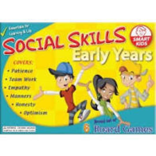 Social Skills Board Games Early Years