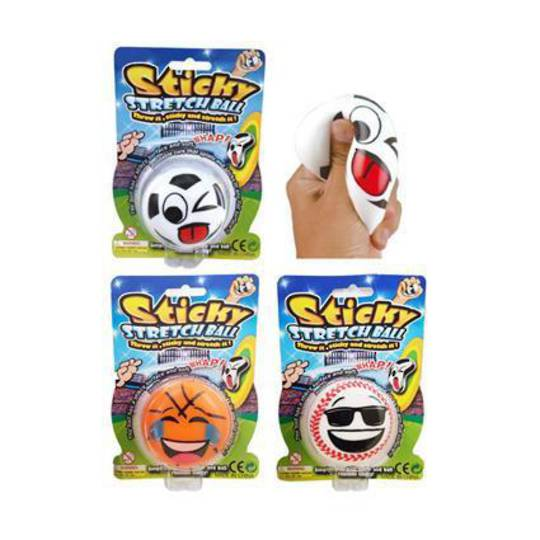 Sticky Squeeze Sports Ball