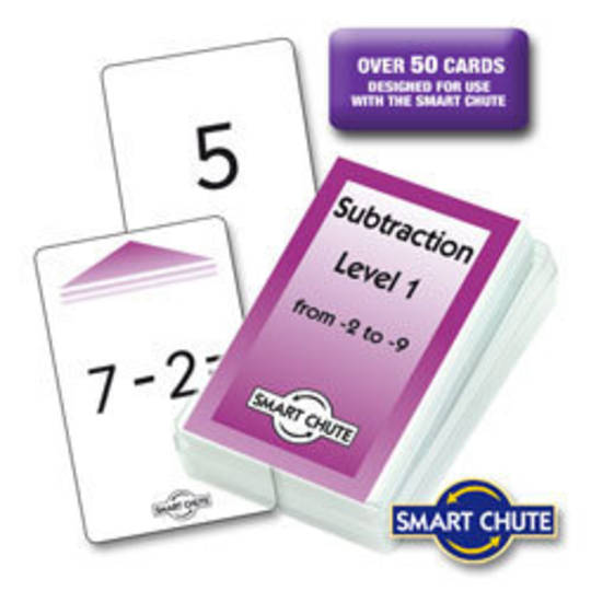 Subtraction Facts Chute Cards - Level 1