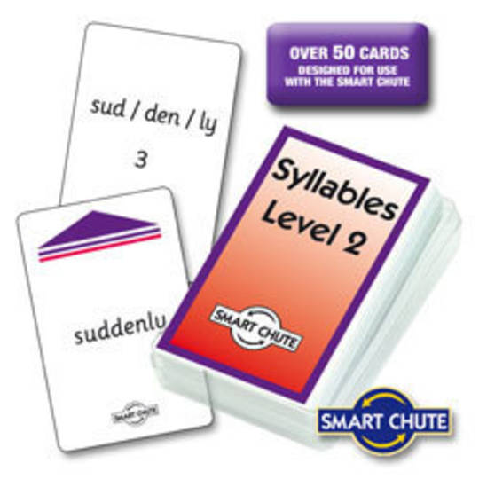 Syllables - Level 2 Chute Cards