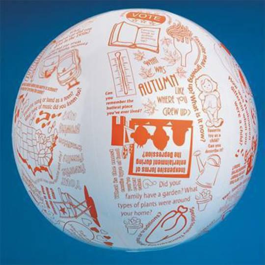 Toss 'n Talk-About® Reminiscing Ball