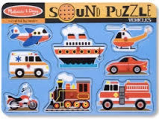 Vehicle Sound Puzzle