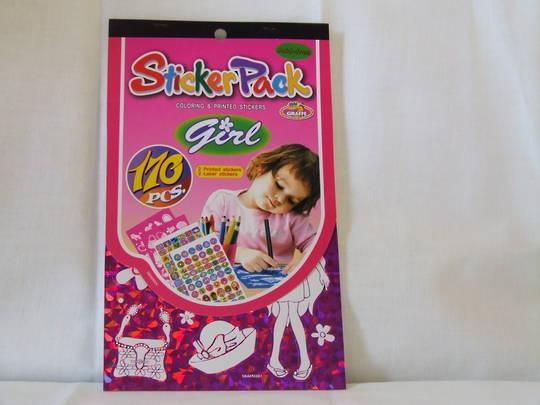 Sticker Pack - Girl