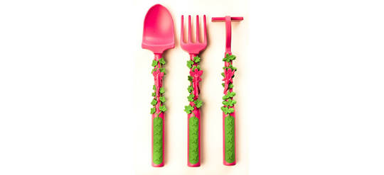 Garden Fairy 3-piece Cutlery Set – Constructive Eating
