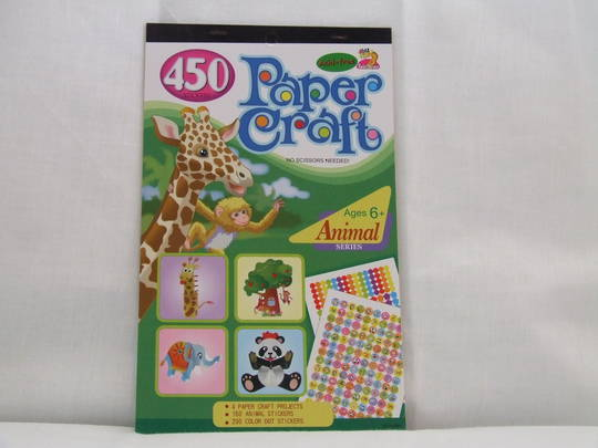 Paper Craft Stickers - Animal Series