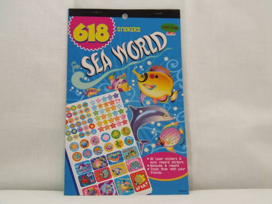Sea World Stickers