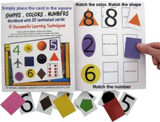 Shapes, Colors and Numbers