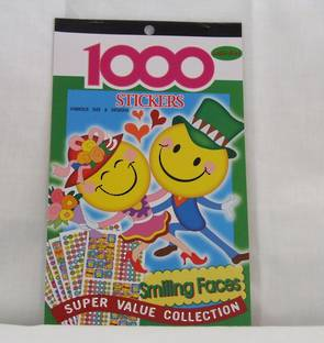 Smiley Faces Sticker Pad