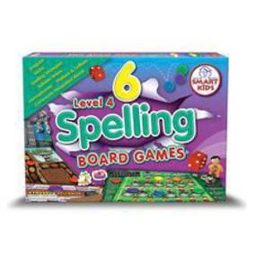 6 Spelling Board Games - Level 4