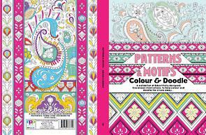 Patterns & Motifs Colour and Doodle