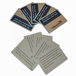 The Social and Emotional Competence Game  Bipolar Disorder Cards