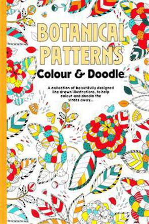 Botanical Patterns Colour and Doodle