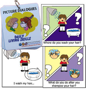 Conversations in Pictures  - Daily living skills