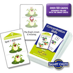 Concentration Skills Level 1 Chute Cards