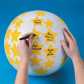 Create Your Own Toss 'n Talk-About® Ball