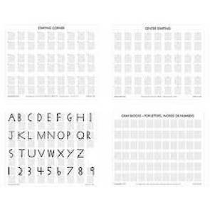 Grey Block Paper (104 sheets)