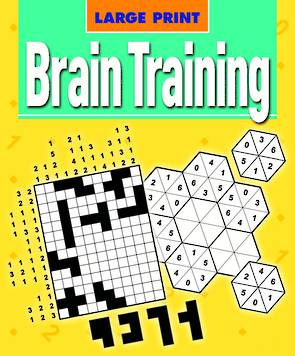 Large Print Brain Training