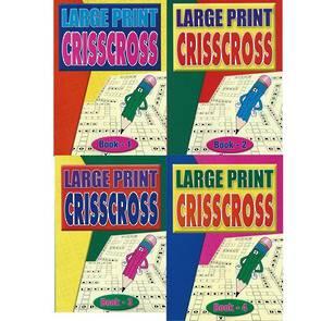 Large Print CrissCross