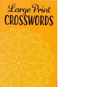 Large Print Crossword Pantone