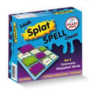 Look, Splat, Spell, Check Level 2