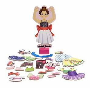 Nina Ballerina Magnetic Dress Up Doll