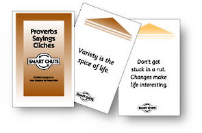 Smart Chute Cards - Proverbs, Sayings and Cliches