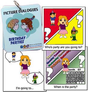 Picture Dialogues  - Birthday Parties