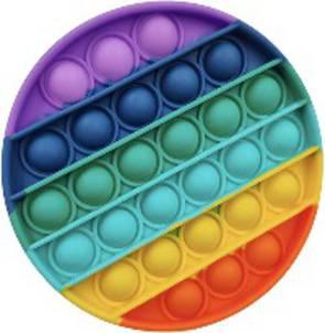 Popit Rainbow Circle