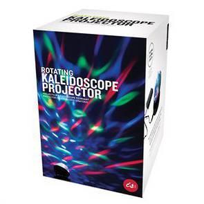 Rotating Kaleidoscope Projector
