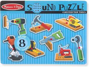 Construction Tools Sound Puzzle
