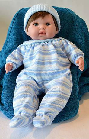 "Baby Girl""Tamara"" with GO to Sleep Eyes - Therapy Doll"