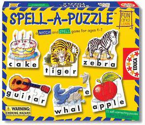 Spell - A - Puzzle