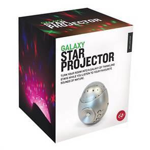 Galaxy Star Projector - Sound Machine - Silver