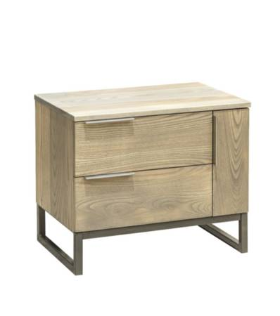 Ash Cove 2 Drawer/ 1 Door Bedside