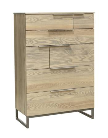 Ash Cove 7 Drawer Chest