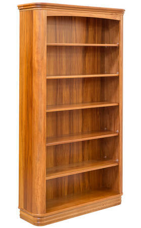 Riviera 1100 x 1900mm Bookcase Standard