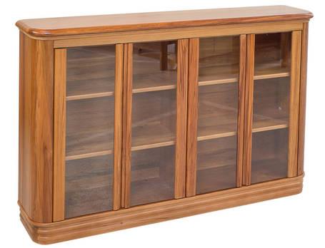 Riviera 1600 x 1015mm Bookcase Glass Doors