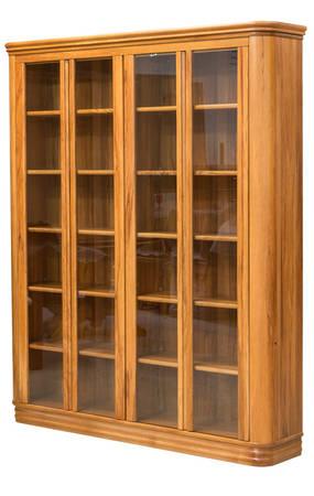 Riviera 1600 x 1900mm Bookcase Glass Doors
