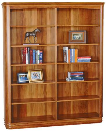 Riviera 1600 x 1900mm Bookcase Standard