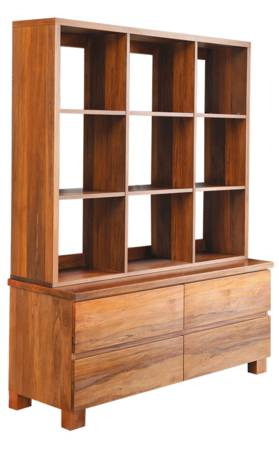Riverwood 4 Drawer Display Cabinet
