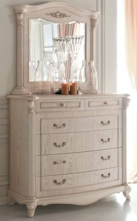 Chateau 6 Drawer Dresser & Mirror