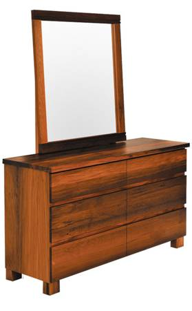 Riverwood 6 Drawer Dresser & Mirror