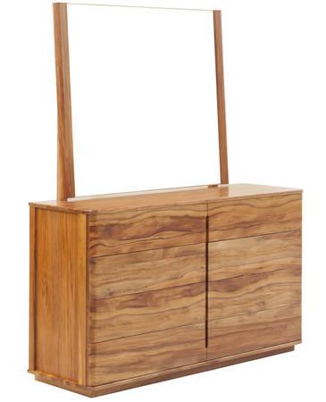 Solaris 8 drawer Dresser and Mirror