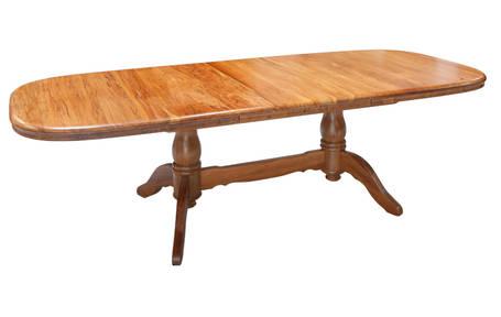 Brunswick Twin Pedestal Extension Dining Table 1900L x 1140W Extn 2600L