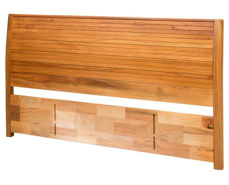 Solaris King Timber Slatted Panel Headboard