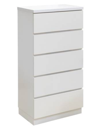 Metro 5 Drawer Slimline