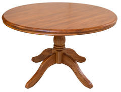 Oslo Round Fixed Dining Table - 1500L x 1500W