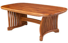 Riviera Fixed Dining Table - 2000L x 1140W