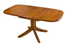 Verso Single Pedestal Extension Table 1200L x 900W Extn 1600L