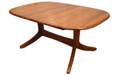 Verso Twin Pedestal Extension Table 1650L x 1100W Extn 2150L